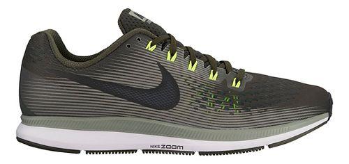 Mens Nike Air Zoom Pegasus 34 Running Shoe - Olive 8
