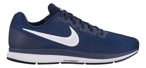 Mens Nike Air Zoom Pegasus 34 Running Shoe - Navy 8