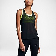 Womens Nike Breathe Cool Sleeveless & Tank Technical Tops - Black XL
