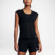 Womens Nike Breathe Cool Short Sleeve Technical Tops