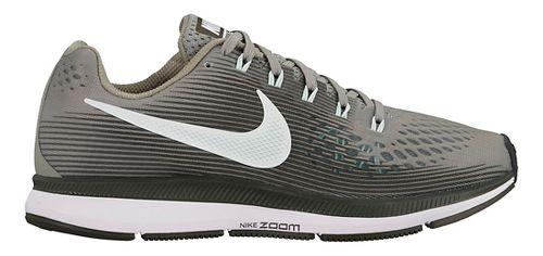 Womens Nike Air Zoom Pegasus 34 Running Shoe - Olive 6.5