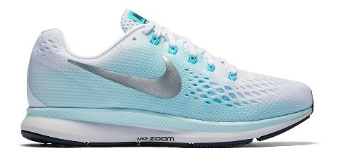 Womens Nike Air Zoom Pegasus 34 Running Shoe - Glacier 6.5