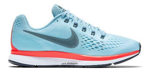 Womens Nike Air Zoom Pegasus 34 Running Shoe - Blue 9.5