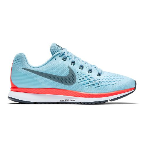 Womens Nike Air Zoom Pegasus 34 Running Shoe - Blue 10