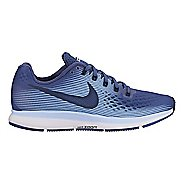 Womens Nike Air Zoom Pegasus 34 Running Shoe - Black/White 10.5