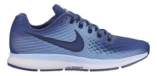 Womens Nike Air Zoom Pegasus 34 Running Shoe - Blue/Light Blue 11