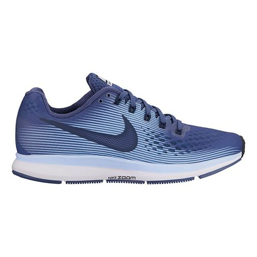 Womens Nike Air Zoom Pegasus 34 Running Shoe - Blue/Light Blue 11