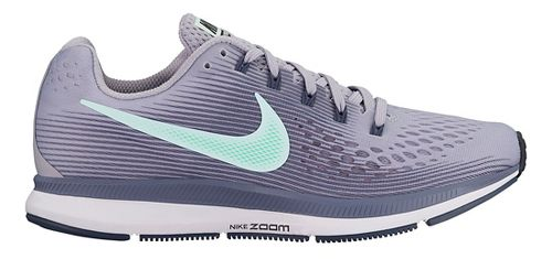Womens Nike Air Zoom Pegasus 34 Running Shoe - Grey/Teal 6.5