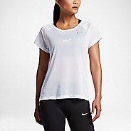 Womens Nike Breathe Short Sleeve Technical Tops