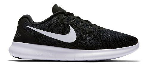 Mens Nike Free RN 2017 Running Shoe - Black 11.5