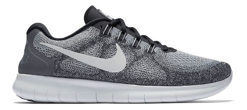 Mens Nike Free RN 2017 Running Shoe - Grey/Black 10.5