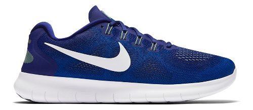 Mens Nike Free RN 2017 Running Shoe - Royal 10