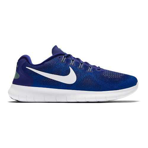 Mens Nike Free RN 2017 Running Shoe - Royal 12.5