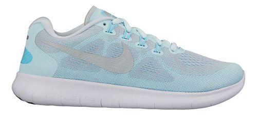 Womens Nike Free RN 2017 Running Shoe - Glacier 7.5
