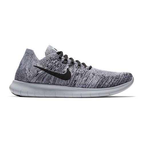 Men's Nike Free RN Flyknit - Oreo 12