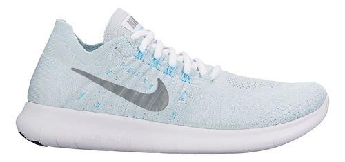 Womens Nike Free RN Flyknit 2017 Running Shoe - Glacier 9