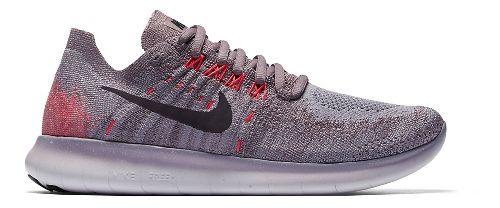 Womens Nike Free RN Flyknit 2017 Running Shoe - Glacier 8.5
