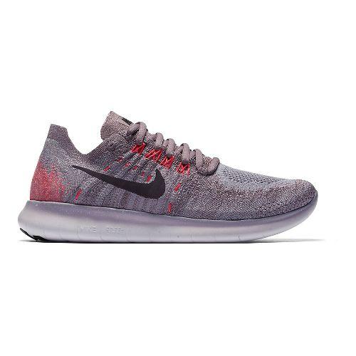 Womens Nike Free RN Flyknit 2017 Running Shoe - Black 11