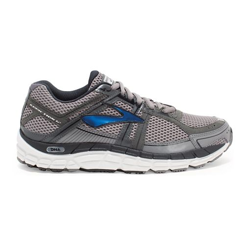 Mens Brooks Addiction 12 Running Shoe - Mako/Anthracite 10.5