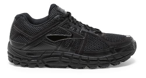Mens Brooks Addiction 12 Running Shoe - Black/Anthracite 10.5