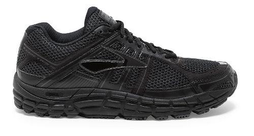 Mens Brooks Addiction 12 Running Shoe - Black/Anthracite 8.5