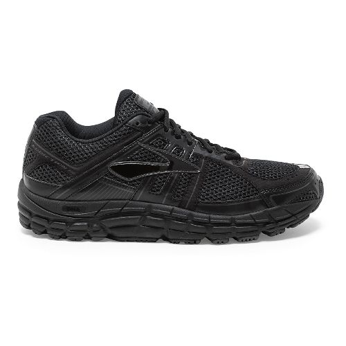 Mens Brooks Addiction 12 Running Shoe - Black/Anthracite 16