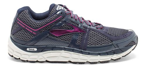 Womens Brooks Addiction 12 Running Shoe - Ombre Blue/Obsidian 7