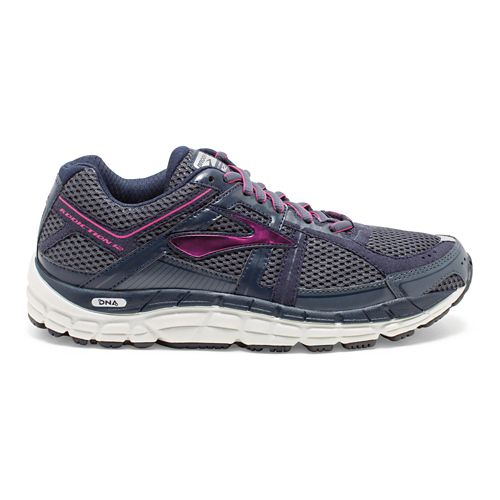 Womens Brooks Addiction 12 Running Shoe - Ombre Blue/Obsidian 8