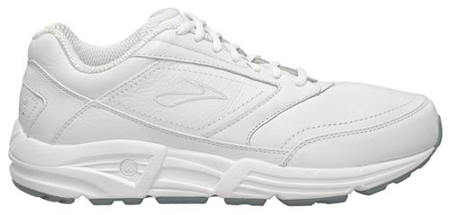 Mens Brooks Addiction Walker Walking Shoe - White 10.5