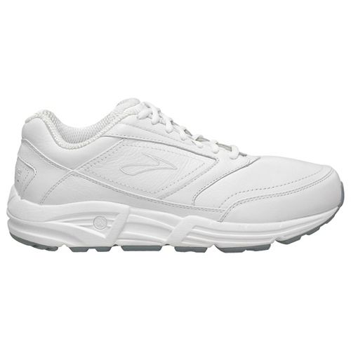Mens Brooks Addiction Walker Walking Shoe - White 10