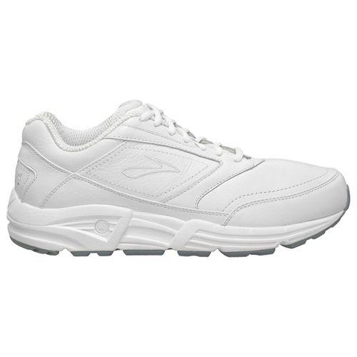 Mens Brooks Addiction Walker Walking Shoe - White 11