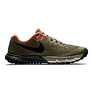 Mens Nike Air Zoom Terra Kiger 4 Trail Running Shoe - Olive 9.5