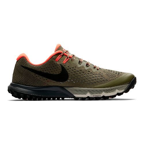 Mens Nike Air Zoom Terra Kiger 4 Trail Running Shoe - Olive 12