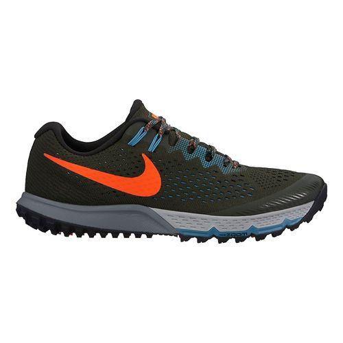 Mens Nike Air Zoom Terra Kiger 4 Trail Running Shoe - Brown/Orange 9.5