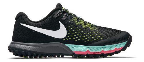 Womens Nike Air Zoom Terra Kiger 4 Trail Running Shoe - Black 7.5