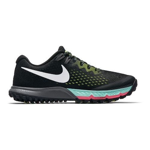 Womens Nike Air Zoom Terra Kiger 4 Trail Running Shoe - Black 6.5