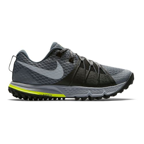 Mens Nike Air Zoom Wildhorse 4 Trail Running Shoe - Grey 12.5