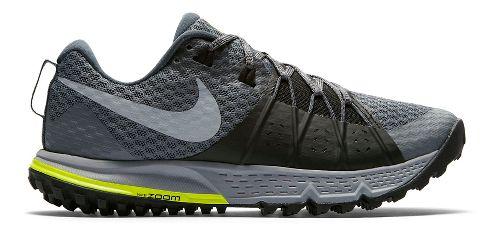 Womens Nike Air Zoom Wildhorse 4 Trail Running Shoe - Grey 7.5
