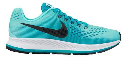 Kids Nike Air Zoom Pegasus 34 Running Shoe - Teal 1Y