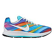 Kids Nike Air Zoom Pegasus 34 Print Running Shoe - Multi 4.5Y