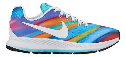 Kids Nike Air Zoom Pegasus 34 Print Running Shoe - Multi 4Y