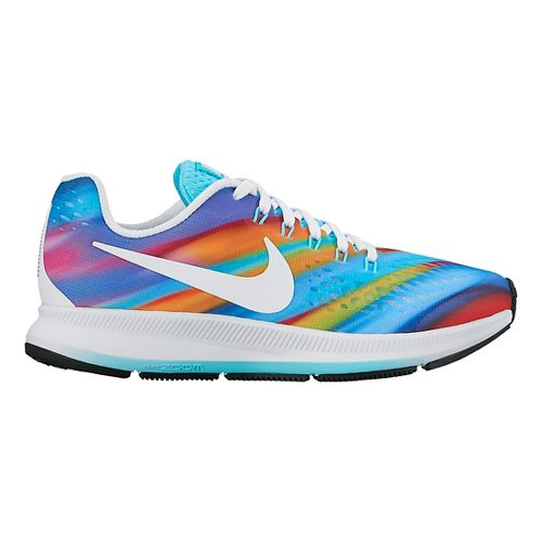 Kids Nike Air Zoom Pegasus 34 Print Running Shoe - Multi 5Y