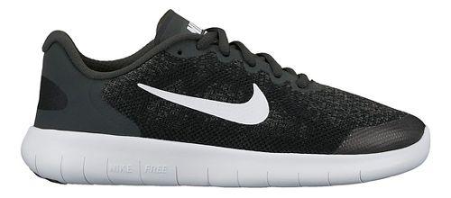 Kids Nike Free RN 2017 Running Shoe - Black 4.5Y