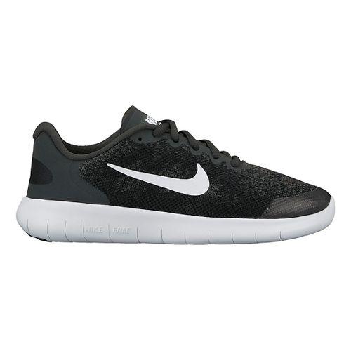 Kids Nike Free RN 2017 Running Shoe - Black 3.5Y