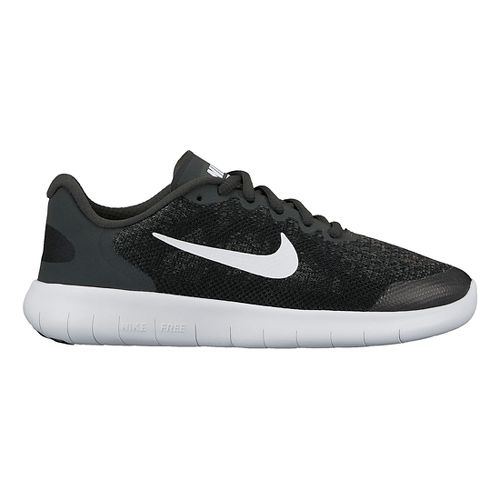 Kids Nike Free RN 2017 Running Shoe - Black 6Y