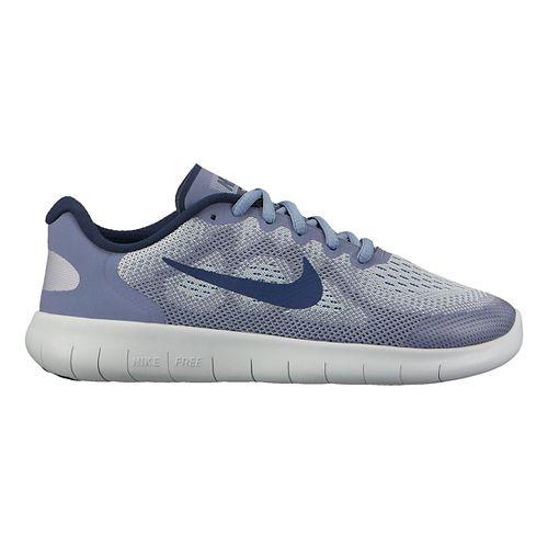Kids Nike Free RN 2017 Running Shoe - Blue Grey 5Y