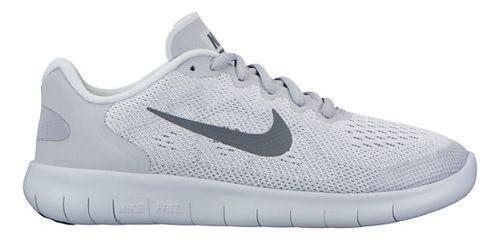 Kids Nike Free RN 2017 Running Shoe - Grey 6.5Y