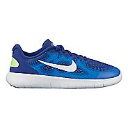 Kids Nike Free RN 2017 Running Shoe - Blue 5.5Y