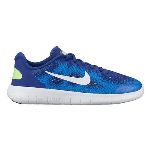 Kids Nike Free RN 2017 Running Shoe - Blue 4.5Y