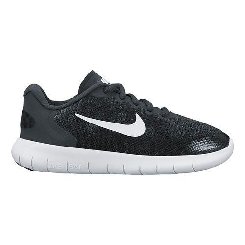 Kids Nike Free RN 2017 Running Shoe - Black 11C
